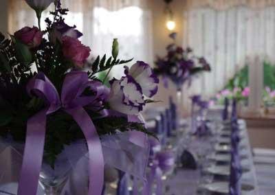 Imprezy okolicznościowe - przygotowanie bukietów kwiatów