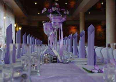 Imprezy okolicznościowe - wystrój na wesele